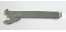 """Soporte 12"""" cromado para barra rectangular para riel de 1"""""""