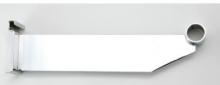Soporte 12 pulgadas cromado tubo 1 1/16 pulgadas para rejilla