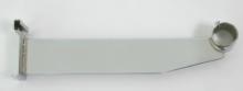 Soporte 12 pulgadas cromado tubo 1 1/4 pulgadas para rejilla